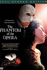 The Phantom Of The Opera (full Screen) New DVD with free shipping
