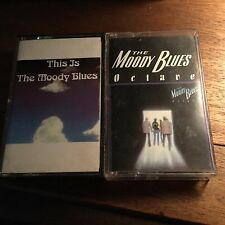 This is The Moody Blues 1974 and Octave by The Moody Blues 1978 Cassettes