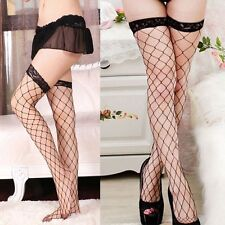 Glamorous Sexy Women Mesh Lace Long Lady Tights Fishnet Stockings High Socks