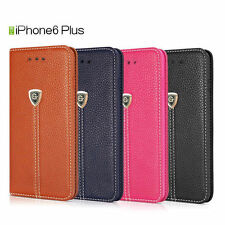 Luxury Magnetic Folio Stand Wallet Leather Case Cover for iPhone 7 Plus 6 6s +
