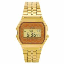 Casio VINTAGE Timepieces Mens Digital Watch Casual Gold A159WGEA-9A