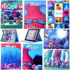 For iPad 2 3 3rd 4 Air 2 Mini 4 Trolls Folding Smart Cover PU Leather Stand Case