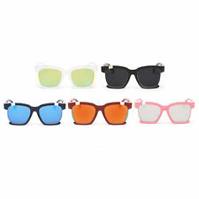 Classic Vintage PC Frame Colorful Lens UV400 Sunglasses Fashion Eyewear EP