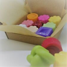 Fragranced Soy Wax Candle Melts Gift Box - Natural Handmade Vegan Cruelty Free