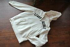 Aeropostale Hoodie  OFF WHITE SIZE MEDIUM
