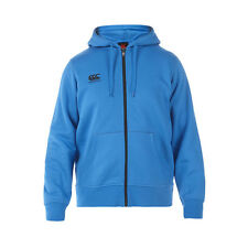 Canterbury Full Zip Ss15 Blue Aster/carbon Adults Hoody