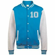 Kids PERSONALISED Varsity Jacket College Custom Printed Children American