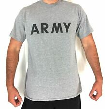 Short Sleeve PT IPFU Shirt Army Physical Fitness Uniform T-Shirt, Military Issue