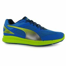 Puma Ignite Mesh Running Shoes Mens Blue/Grey Fitness Sports Trainers Sneakers