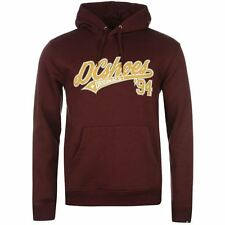 DC Shoes USA Kensas Pullover Hoody Mens Wine Hooded Sweatshirt Sweater