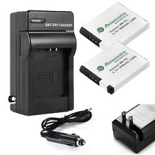 NB-11L Battery / Car Wall Charger For Canon PowerShot Digital ELPH 110 320 HS