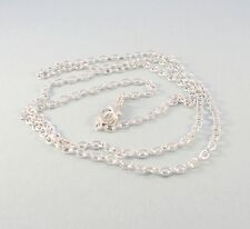 Necklace chain for silver pendants charms and beads - choose length