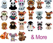 TY Beanie Boos 6 inch, TY Boo Plush Soft Toy, Brand new with tags. Pick from 29!