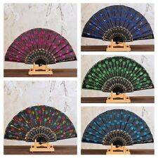 Spanish Style Folding Lace Silk Hand Fans Dance Wedding Party Home Decor Gift
