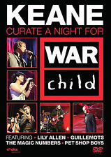 Keane - Curate A Night For War Child (DVD, 2008)