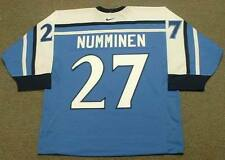 TEPPO NUMMINEN 2002 Team Finland Nike Olympic Throwback Hockey Jersey