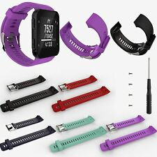 Replacement Silicone Strap Wrist Watch Band w/Tool for Garmin Forerunner 35 GPS