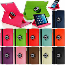 360 Rotating Stand Flip Smart PU Leather Case Cover for Case Apple iPad Air 1st