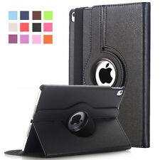 Cover For Apple iPad Pro 9.7 inch Case PU Leather Flip Smart Stand 360 Rotating