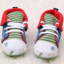Anti-Slip Soles Soft Baby High Shoes Cartoon Printed for Newborn 0-18 Months