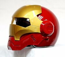 Brand New Masei Atomic-Man 610 Red Gold Motorcycle Helmets All Sizes available