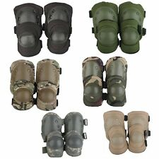 Protective Gear Sports Skateboard Camouflage Tactical Adjustable Knee Elbow Pads