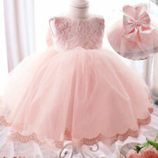 Formal Flower Girl Lace Dress Princess Pageant Wedding Birthday Party Bridesmaid