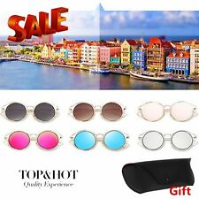 Metal Frame Sunglasses UV400 For Unisex With PU Leather Sungalasses Case Lot XP