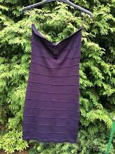 LOVELY LADIES PRUNE BODYCON PARTY DRESS SIZE 10 By  LIPSY..PERFECT CON WORN ONCE