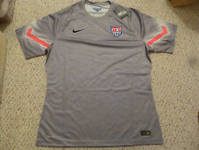 RARE NWT Nike 2014 WC USA Authentic Player Issued Gray Goal Keeper Jersey M/XXL
