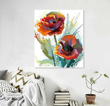 3D Bright Flower Wall Sticker Vinyl Murals Wall Print Decal Deco Art AJ STORE AU