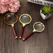 60/70/80MM 5X/10X Handheld Jewelry Magnifier Magnifying Glass Jewelry Loupe DP