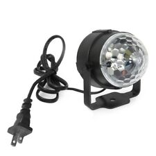 3 LED RGB Magic Crystal Effect Ball Light Stage Lighting for DJ Party
