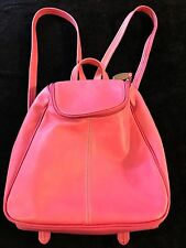 GORGEOUS Tignanello Bag Purse Backpack Style Cotton Candy Leather Tote SOFT