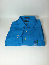 ARROW DRESS SHIRT Classic cotton Teal  Sz.15 15 1/2 16 17   Sl.32/33 34/35 #17