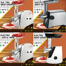 2800W Electric Meat Grinder Sausage Kubbe Pasta Maker Mincer Stainless Steel