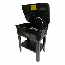 Professional 20 Gallon Parts Washer With Pump Electric Cleaner Degreaser