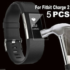 Charger Cable USB+HD Film Intelligent LCD Screen Protector For Fitbit Charge 2