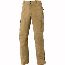 Motorcycle Held 6662 Trader Canvas Trousers 34in Leg - Stone UK Seller