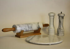 Collection of Vintage Marble Kitchen Accessories