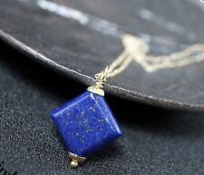 Lapis Lazuli Necklace Gold Filled Lapis Necklace Bridesmaid Jewelry Lapis Jewelr