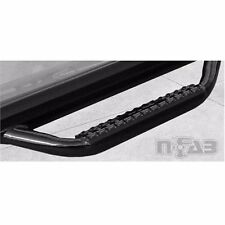 FITS 2017 Ford 6.7L Diesel N-FAB CREW CAB CAB LENGTH NERF STEP GLOSS BLACK..