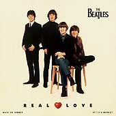 THE BEATLES - REAL LOVE CD W/3 TRACKS NOT ON ANY BEATLES ALBUM!