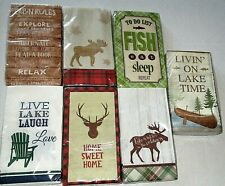 "RUSTIC GUEST NAPKIN ASSORTMENT  20 CT-2 PLY 15 2/3"" X 11 2/3""'"