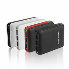 Portable 3USB 50000mAh Power Bank External 2LED Battery Charger For Smartphones