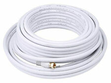 30 40 50 Feet RG6 Coaxial Cable for HDTV Antenna - TV Cable