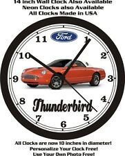 2003 FORD THUNDERBIRD WALL CLOCK-FREE USA SHIP
