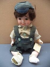 Brinns Porcelain Doll: Boy in Jumper or Girls in White or Pink Dresses NWOT