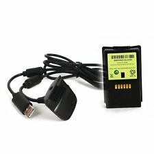 New Ni MH 4800mAH Rechargeable battery pack For XBOX 360 & chargeable cab#V6