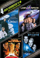 Sci-Fi Collection: 4 Film Favorites (DVD, 2011, 4-Disc Set)